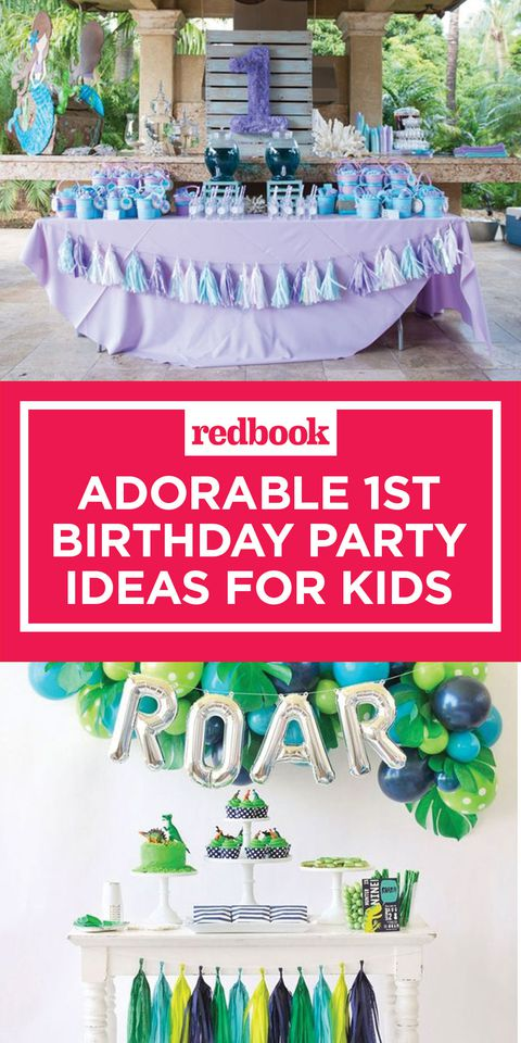 1ο birthday party ideas for kids