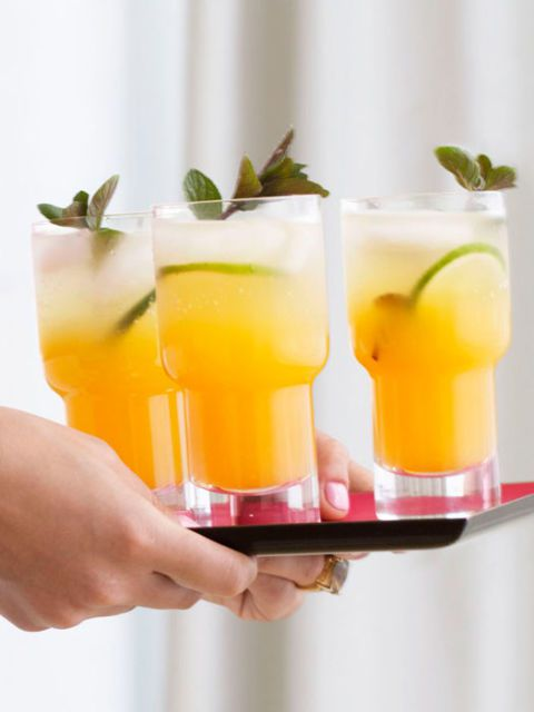 Pasión Fruit Mojitos