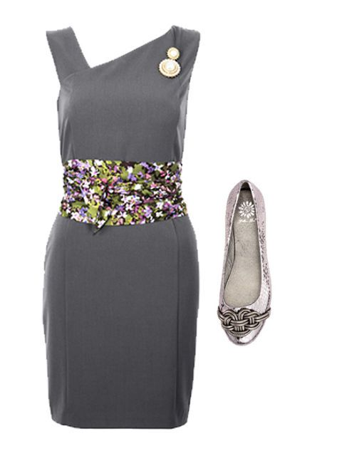 сив dress with girly accessories
