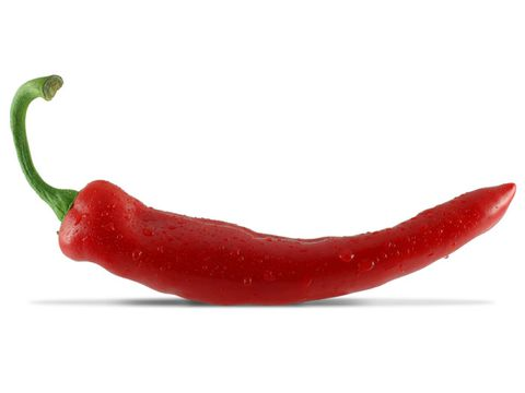 Červené hot chili pepper