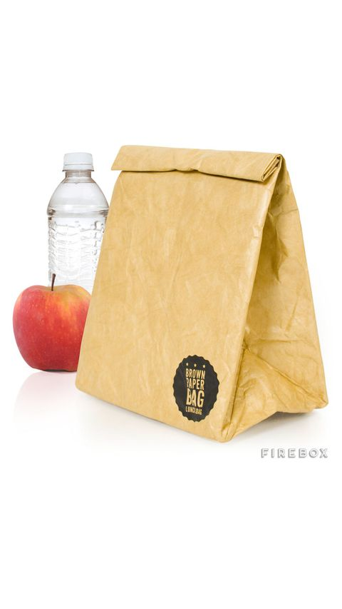 Feuerbox Brown Paper Lunch Bag