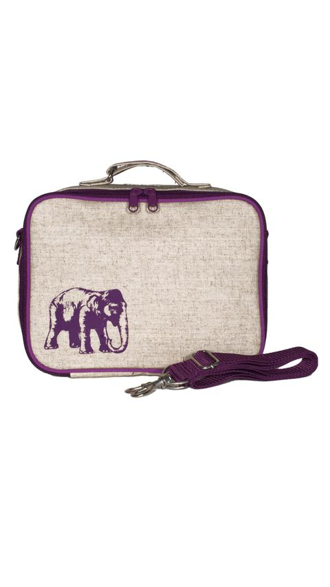 So jung Purple Elephant Lunch Box