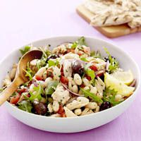 Toscanan tuna and white bean salad