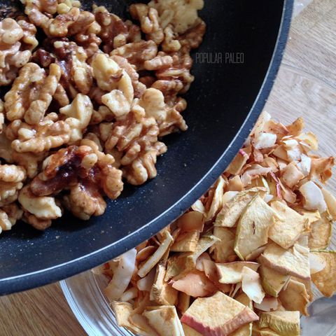 ябълка pie snack mix paleo