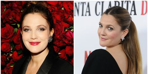 Metallisch eyes and berry-bright lips were a mainstay in the '90s and early '00s, and Drew Barrymore rocked them like no other. But the warmer, more neutral tones that the Flower beauty founder wears now are to die for.