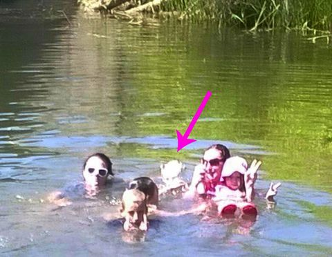 Nadando Family Photobombed By Ghost of Girl Who Drowned In The River