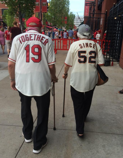 Koleda and Warren Reckmeyer have touched hearts since this amazing image of them together after a baseball game went viral online