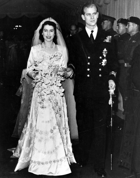 kraljica elizabeth and prince philip wedding day