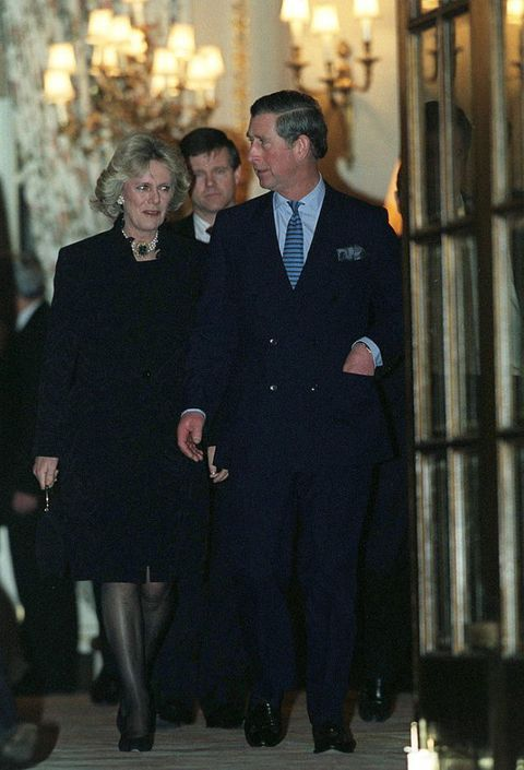Camilla Parker-Bowles and Prince Charles in 1999