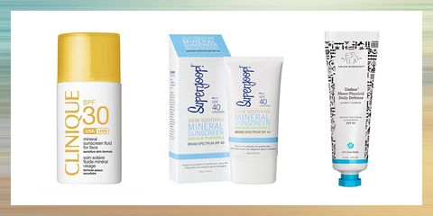 bedst sunscreen for sensitive skin