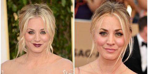 Kaley has never really gone too over-the-top with her makeup, but there's a reason she often plays the girl next door on TV: she doesn't need rimmed liner and dark lips to look A+.