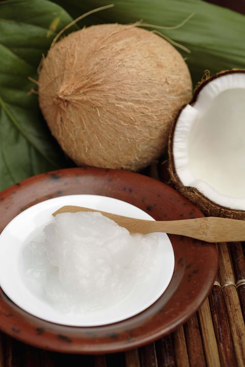 Λίπος melting foods coconut oil