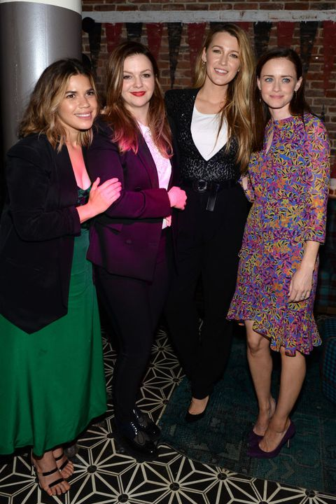 Alexis Bledel, America Ferrera, Blake Lively, and Amber Tamblyn